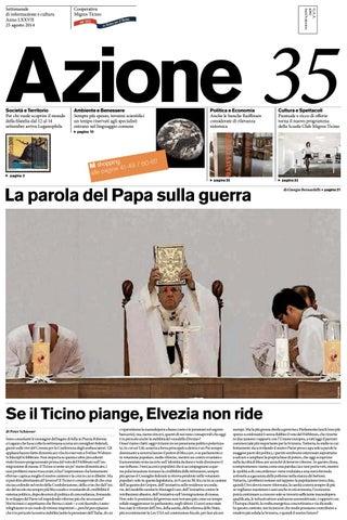 Azione 35 Del 25 Agosto 2014 By Azione Settimanale Di Migros Ticino