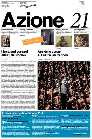 Azione 21 Del 19 Maggio 2014 By Azione Settimanale Di Migros Ticino