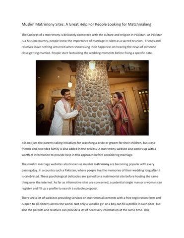 Sites de matchmaking Pakistan