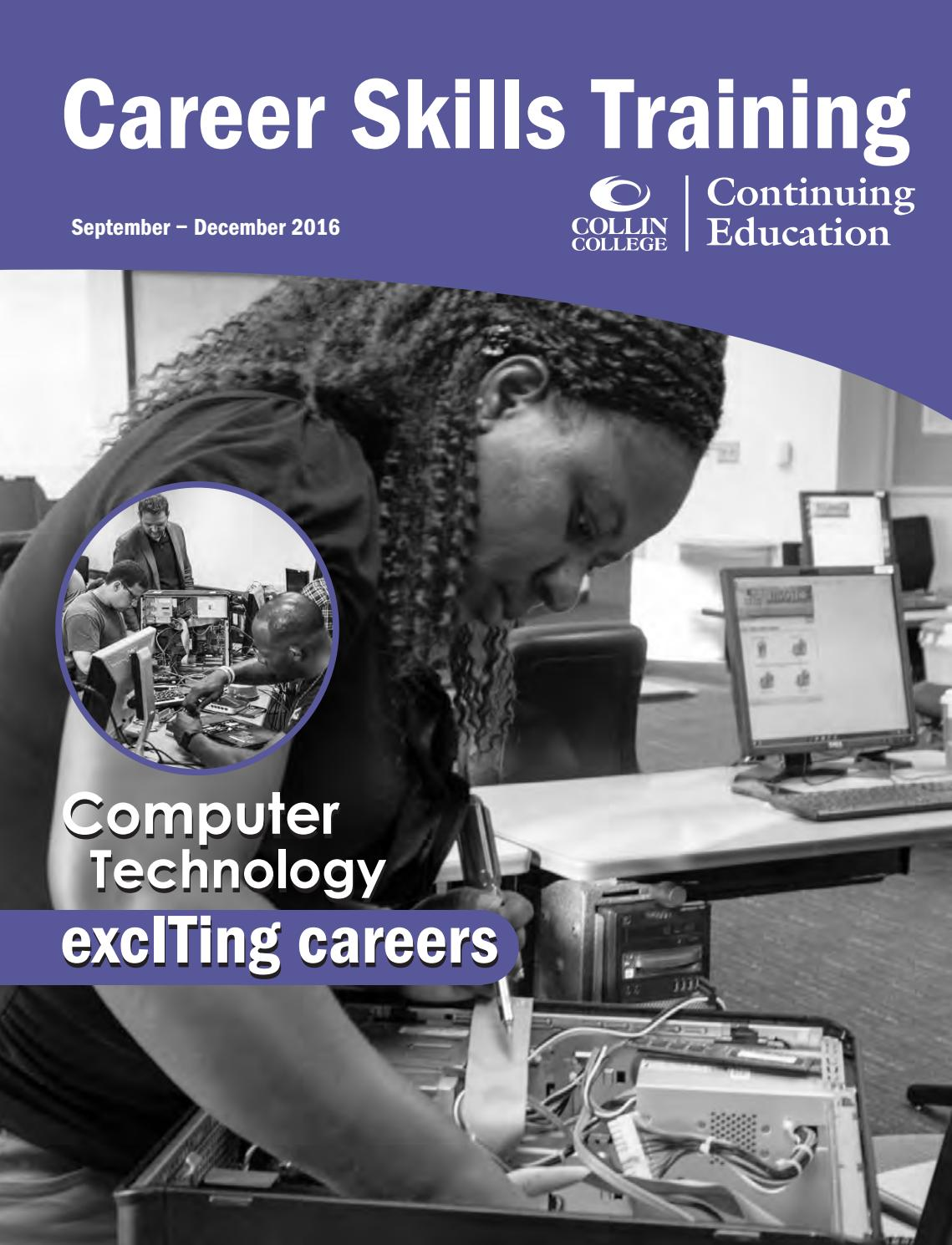 Collin College Continuing Education Fall 2016 Schedule By