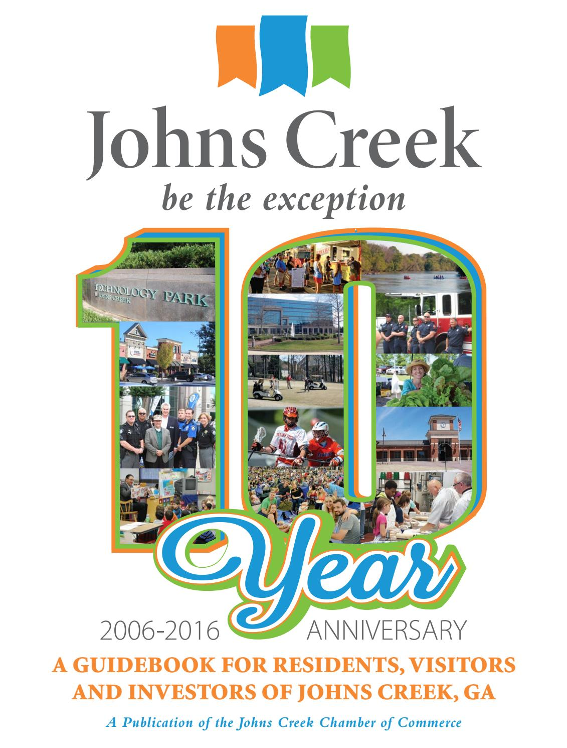 2016 Johns Creek Guidebook by PubMan, Inc  - issuu