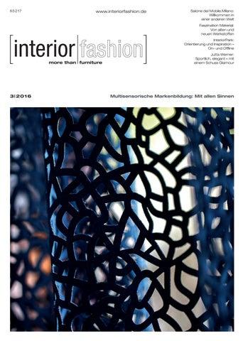 Interiorfashion 1|2016 by InteriorFashion - issuu