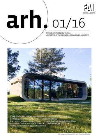 7942ddf5f2d Eesti Arhitektide Liidu Teataja 1/16 by Eesti Arhitektide Liit - issuu