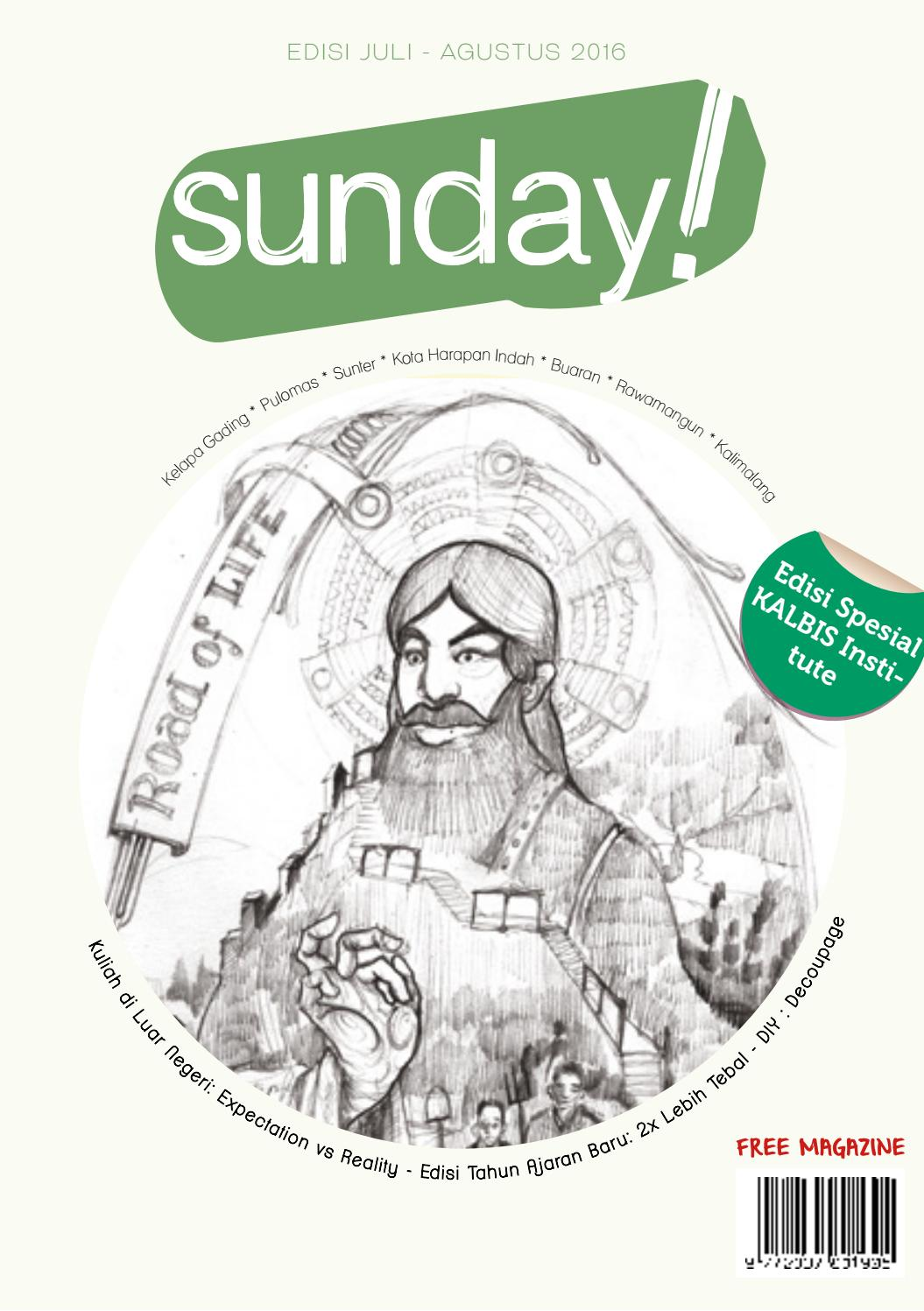 Sunday Kalbis Special By Majalah Issuu Produk Ukm Bumn Kotak Tisu Pandan Decopage