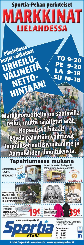Tamperelainen 17.7.2016 by Sportia-Pekka Sportia-Pekka - Issuu