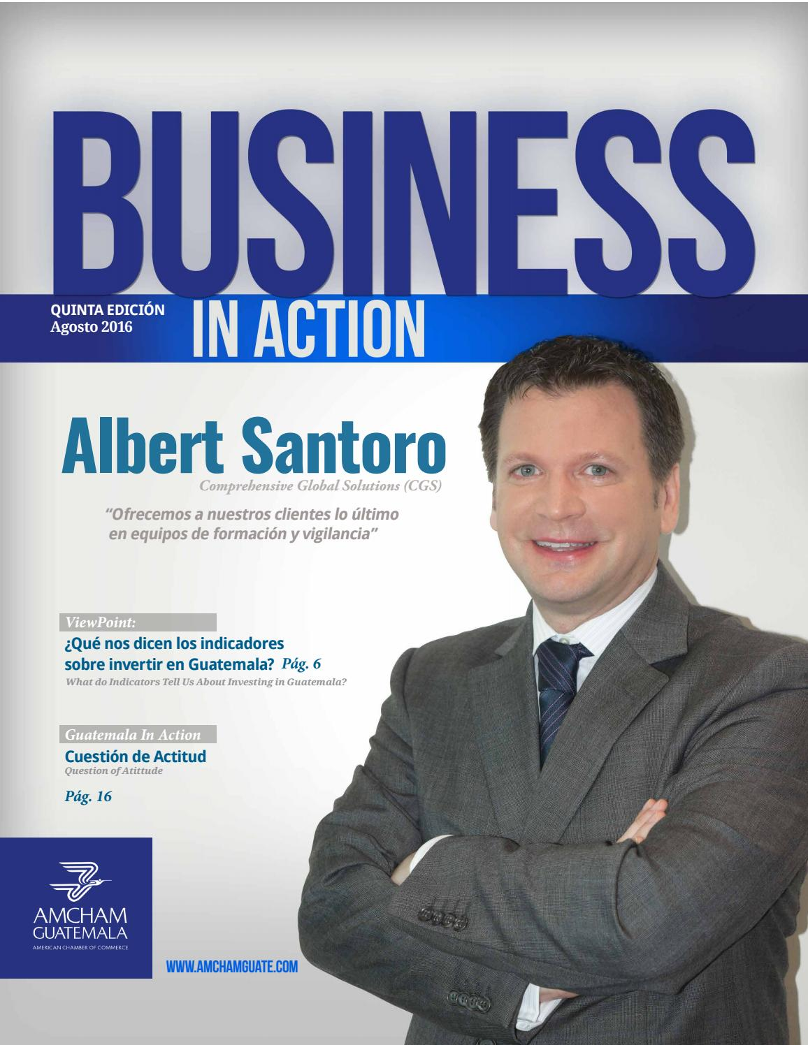 Business In Action By Amcham Guatemala By Amcham Guatemala