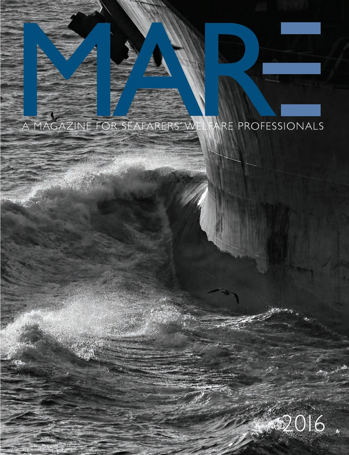 The MARE Report: A Magazine for Seafarers' Welfare Professionals (2016) by  NAMMA - issuu