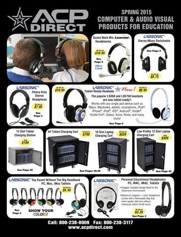 1//4 Inch Plug Califone 610-41 Mono Headphones