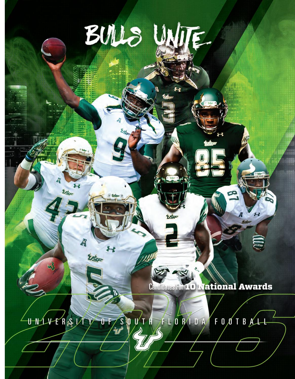 1a8a0c48 2016 USF Football Media Guide by USF Bulls - issuu