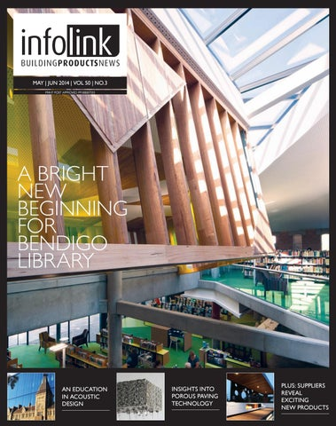 infolink Buildingproductnews, May/June 2014 by Indesign