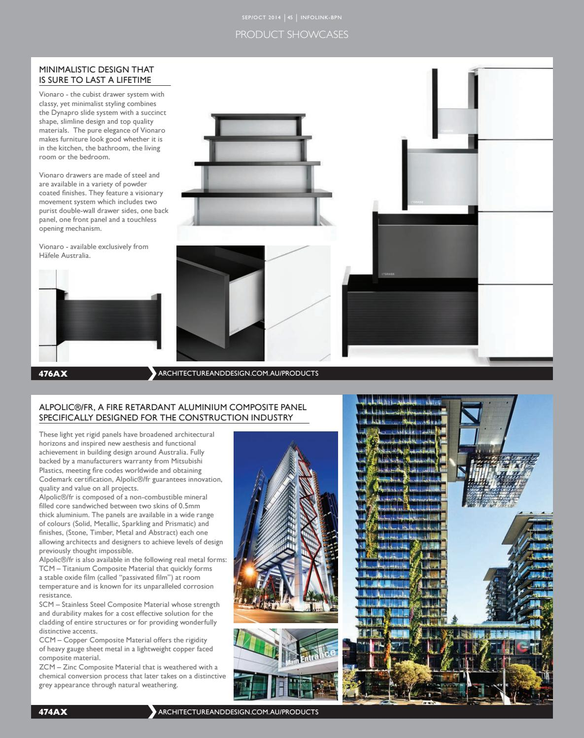 infolink BuidingProductsNews Sep/Oct 2014 by Indesign Media