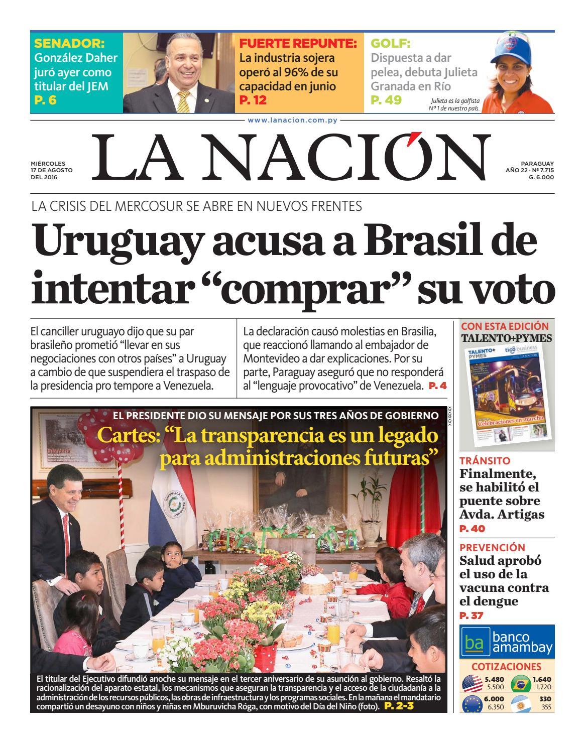 DIARIO LA ANCIÓN EDICIÓN 7.715 by La Nación - issuu