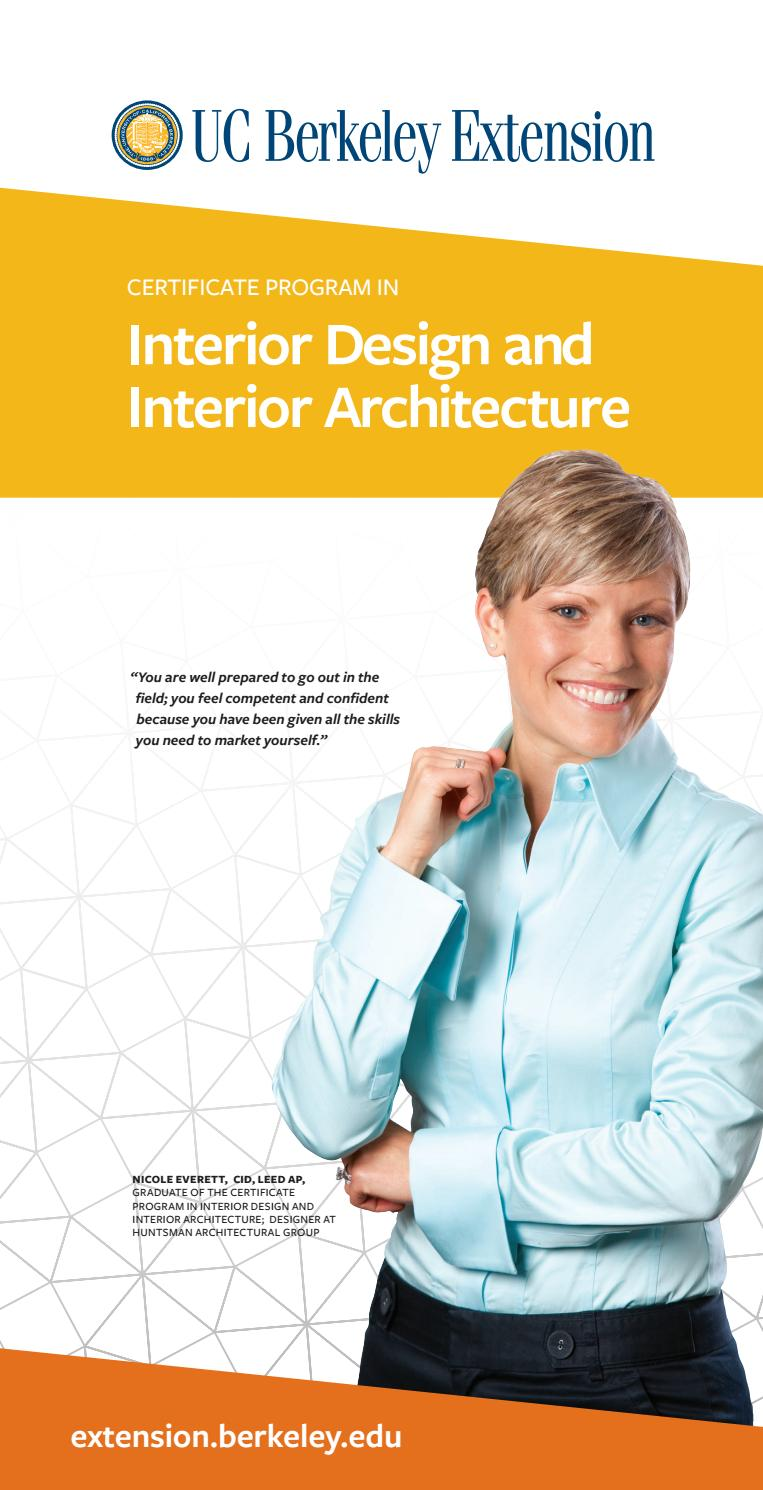 Interior design and interior architecture by belvid issuu for Berkeley extension interior design