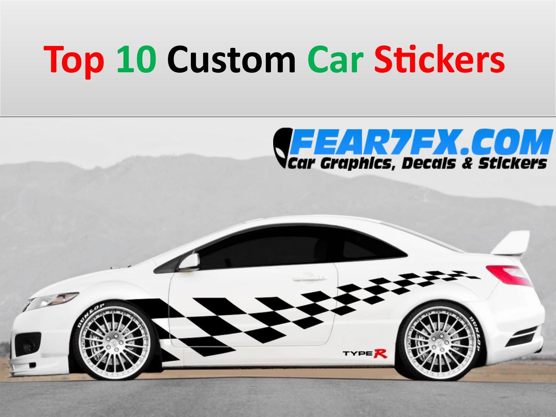 Top 10 custom car stickers by elizabeth issuu