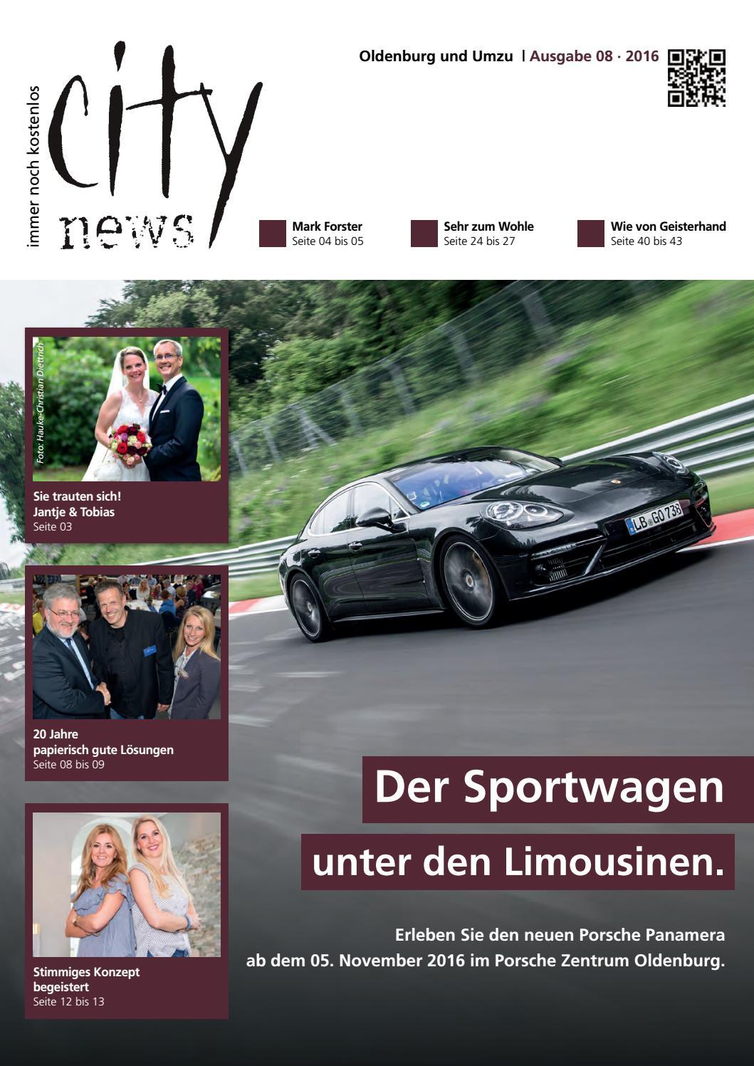 city news oldenburg ausgabe august 2016 by citynews. Black Bedroom Furniture Sets. Home Design Ideas