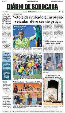 c9c03eb048620 Edição de 17 de agosto de 2016 by DIÁRIO DE SOROCABA - issuu