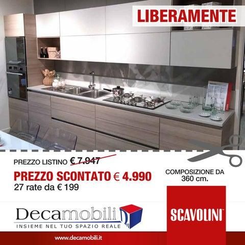 Cucina Scavolini LIBERAMENTE by Decamobili Srl - issuu