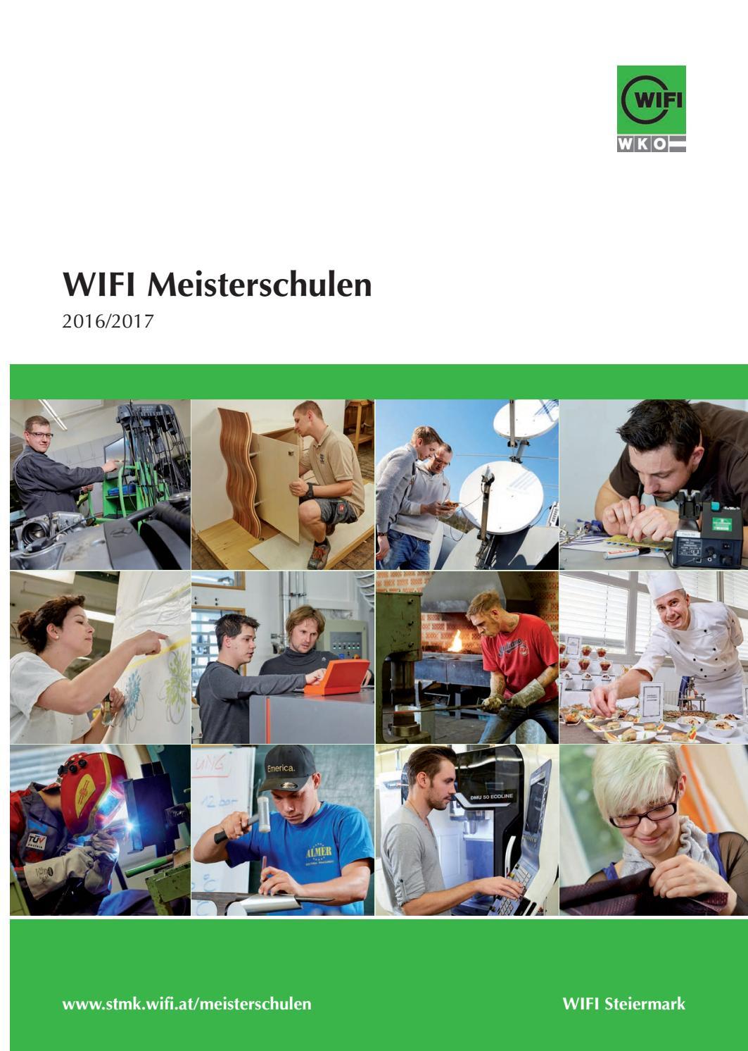 Meisterschule 2016/17 WIFI Steiermark by WIFI Steiermark - issuu