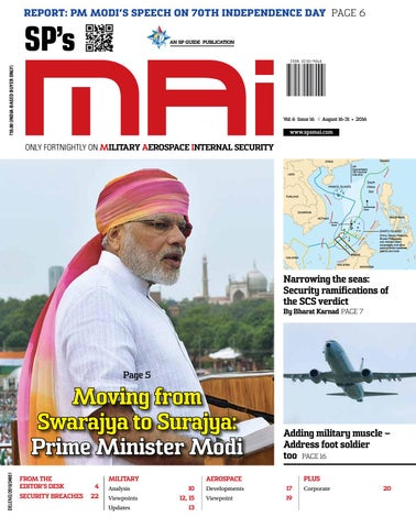 SP's MAI August 16-31, 2016 by SP Guide Publications Pvt Ltd - issuu