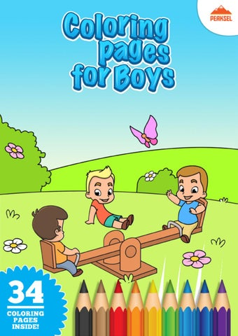 coloring pages for boys  printable coloring book for