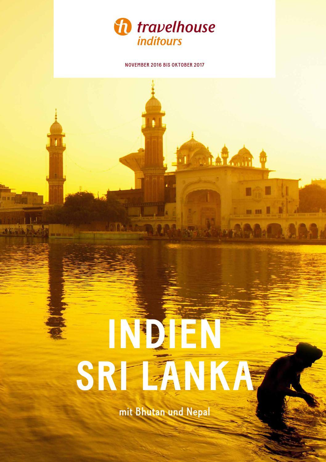 Travelhouse Indien und Sri Lanka – von November 2016 bis Oktober ...