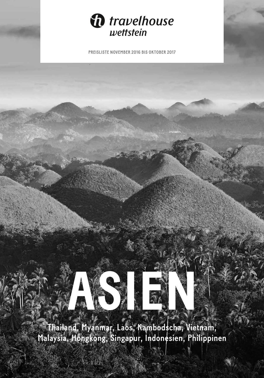 Preisliste Travelhouse Asien – von November 2016 bis Oktober 2017 by  Hotelplan Suisse (MTCH AG) - issuu