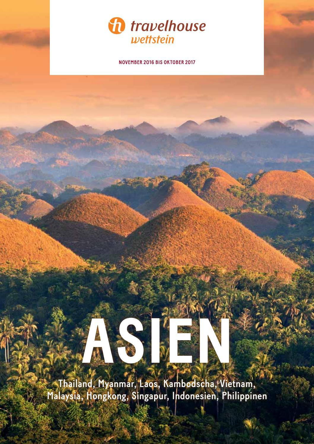 Travelhouse Asien – von November 2016 bis Oktober 2017 by Hotelplan ...