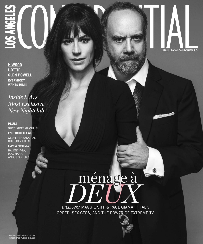 Los Angeles Confidential - 2016 - Issue 4 - Fall - Maggie Siff + Paul  Giamatti by MODERN LUXURY - issuu