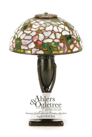Ahlers Ogletree August 2016 Summer Collections Estates Auction