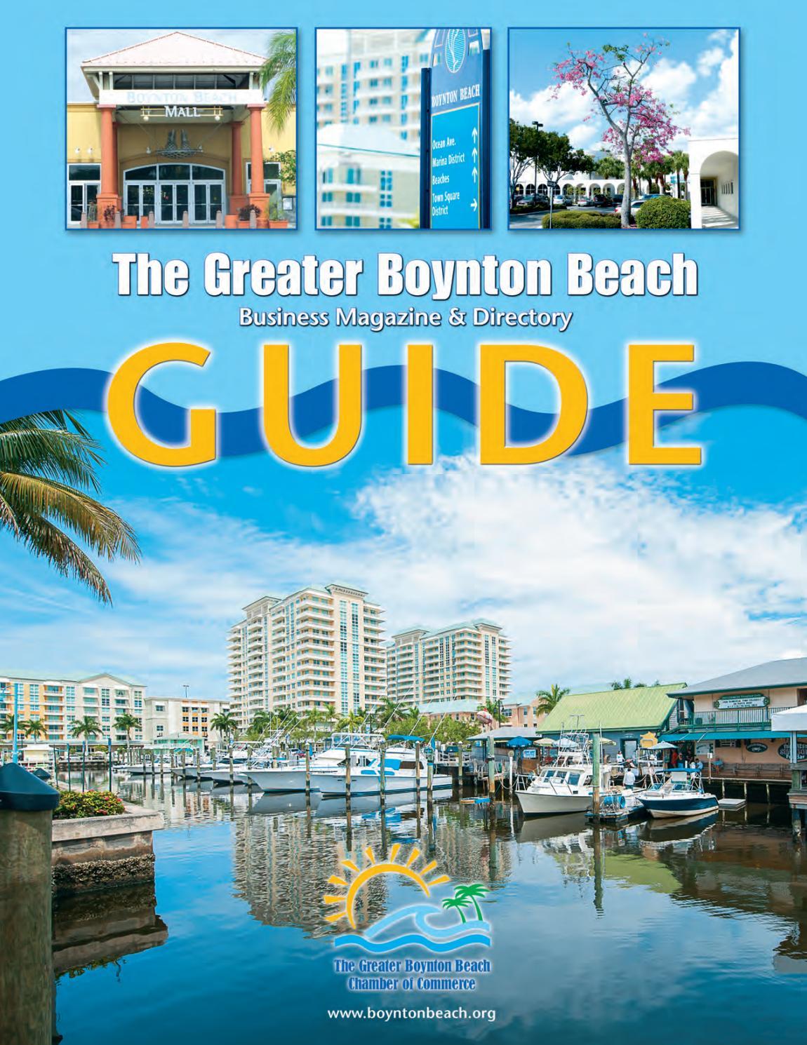 boynton beach fl chamber guide 2014 by town square publications