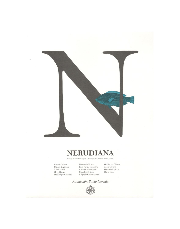 Nerudiana 17 By Fundaci N Pablo Neruda Issuu # Muebles Loa Sur Ancud