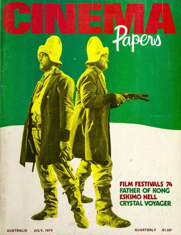 36c3e9c8e Cinema Papers July 1974 by UOW Library - issuu