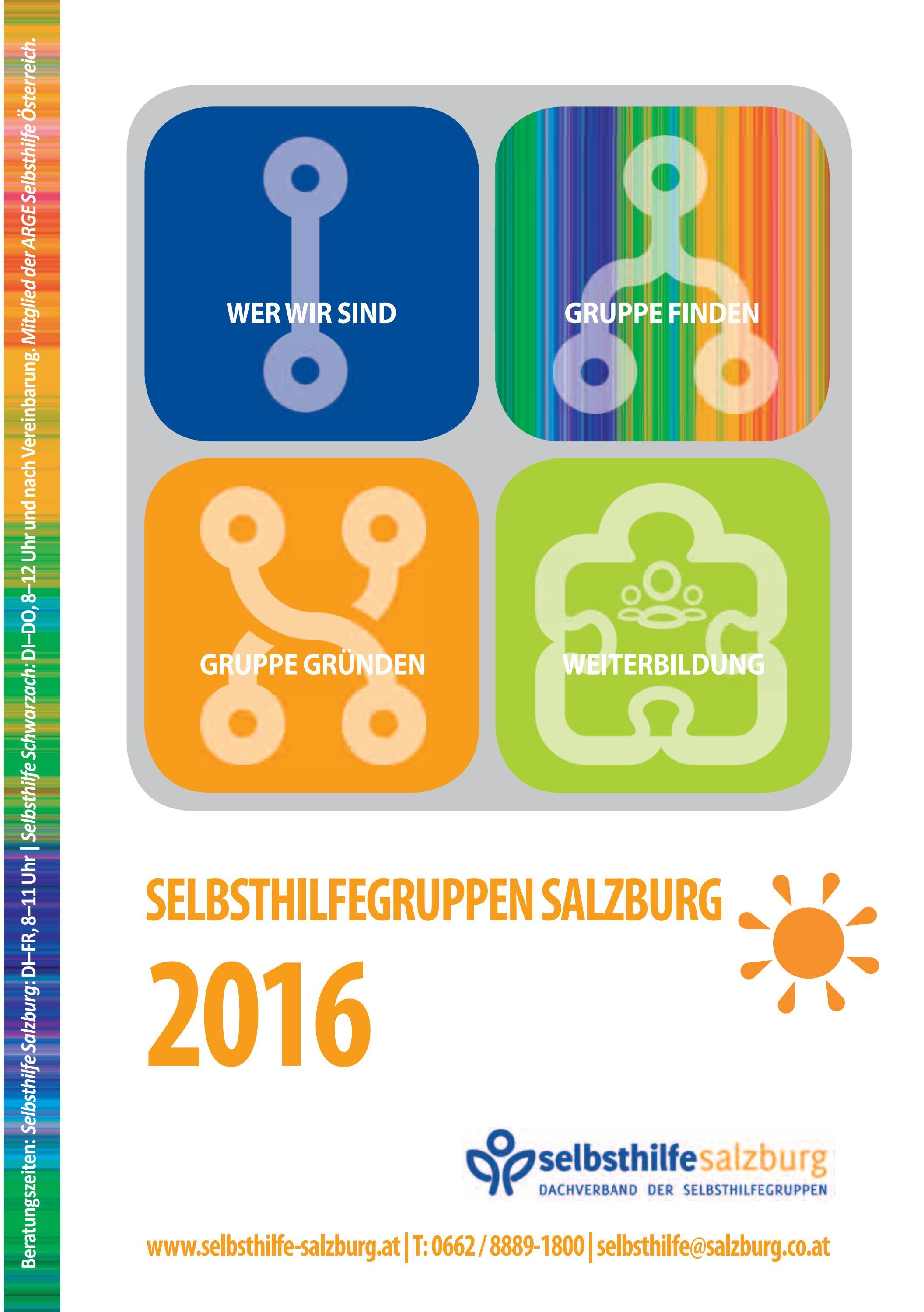 Selbsthilfegruppen Salzburg by seniorenplattform - issuu
