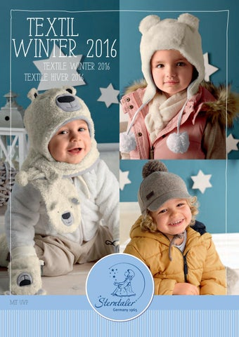 d685f7435f81 Textilkatalog Herbst Winter 2016 by Sterntaler - issuu