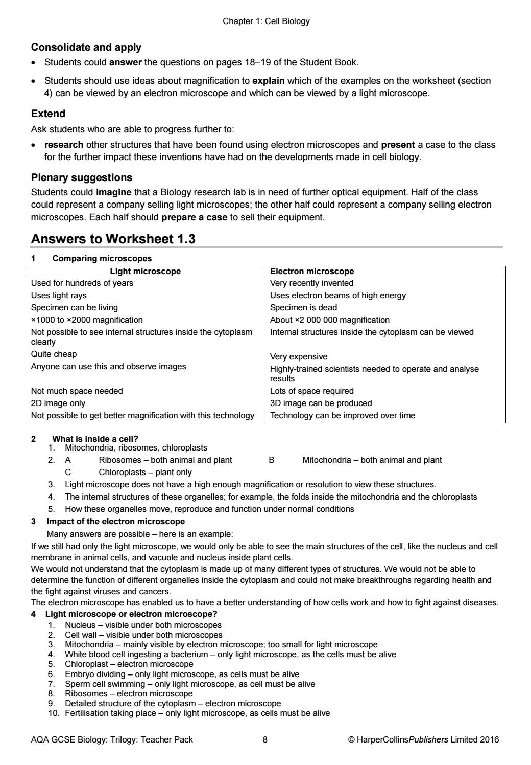 Worksheets Microscope Worksheets free worksheets library download and print on to use the microscope