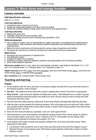 AQA GCSE (9-1) Physics Teacher Pack by Collins - issuu