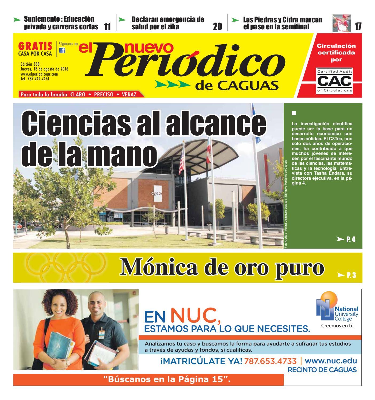 El Nuevo Periódico Edición #388 by El Nuevo Periodico de Caguas - issuu
