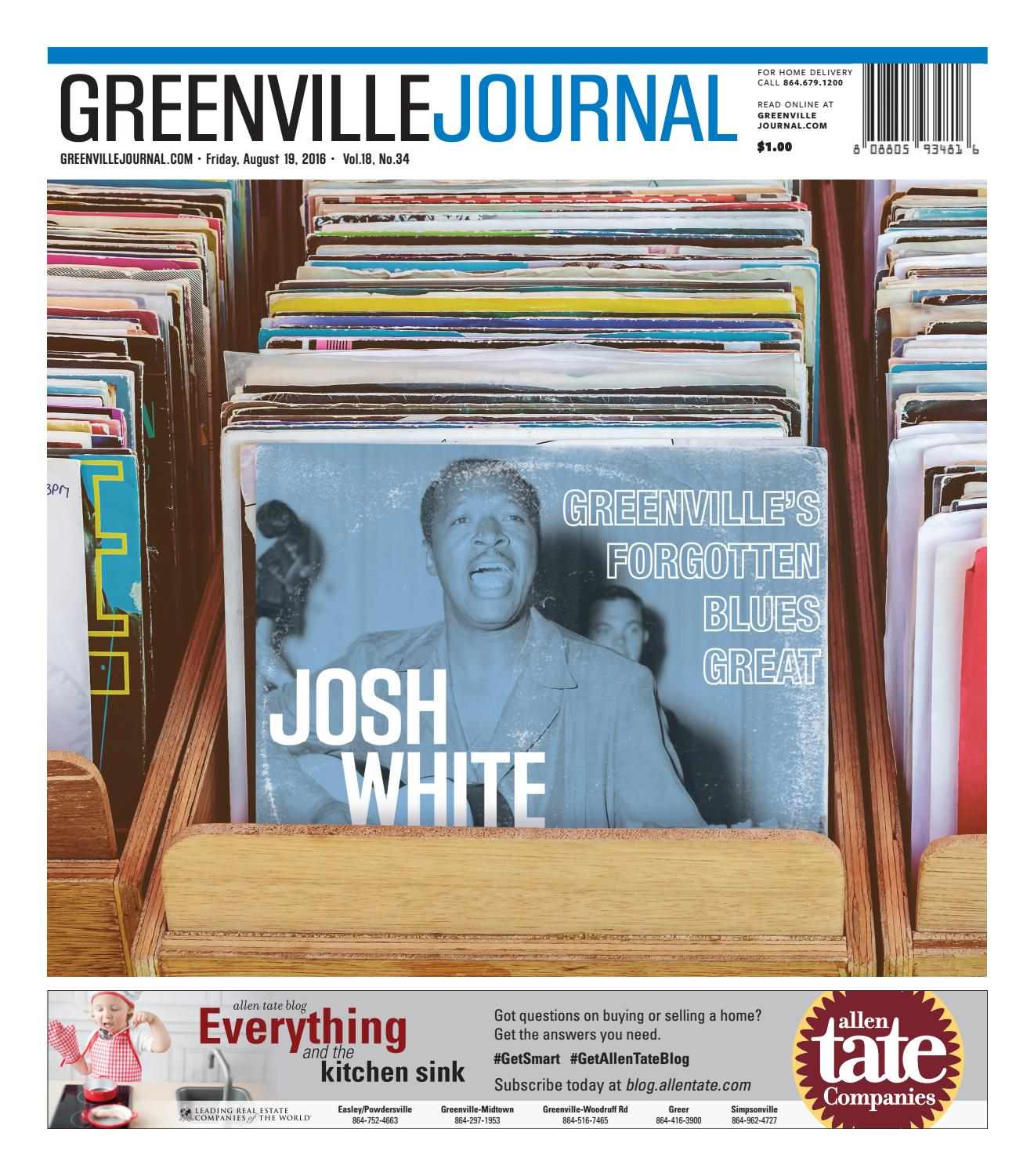 Aug. 19, 2016 Greenville Journal by Community Journals - issuu