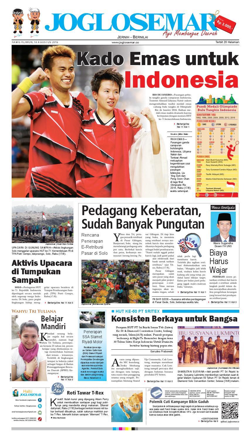 E paper 18 agustus 2016 by PT Joglosemar Prima Media - issuu 2665f99f4b