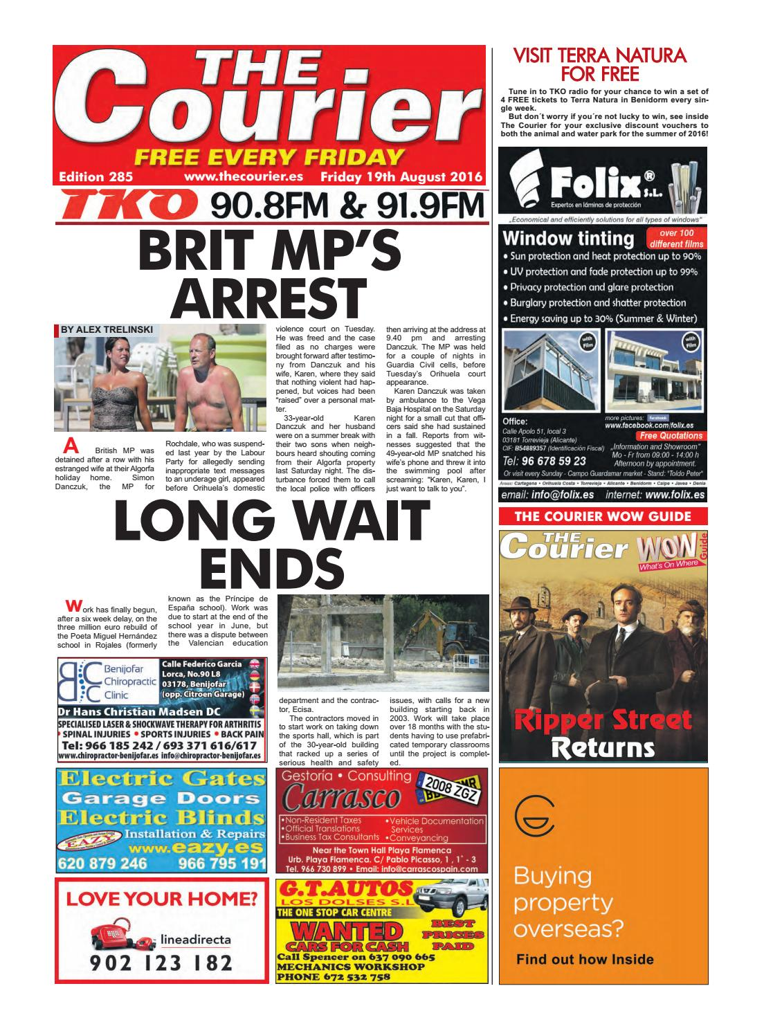The Courier Edition 285 By The Courier Newspaper Issuu