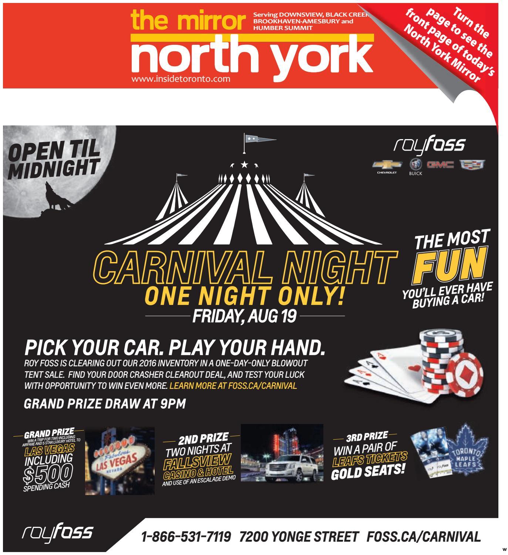 The North York Mirror West August 18