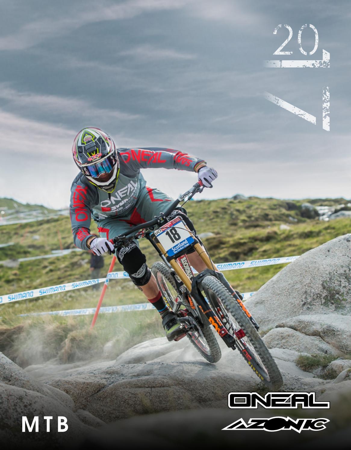 O/'neal Jump MTB DH FR Mountain Bike Full Finger Glove Crank Black//Multi Size XL