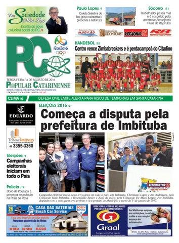 JORNAL POPULAR CATARINENSE by Holmes Brasil Jr  - issuu