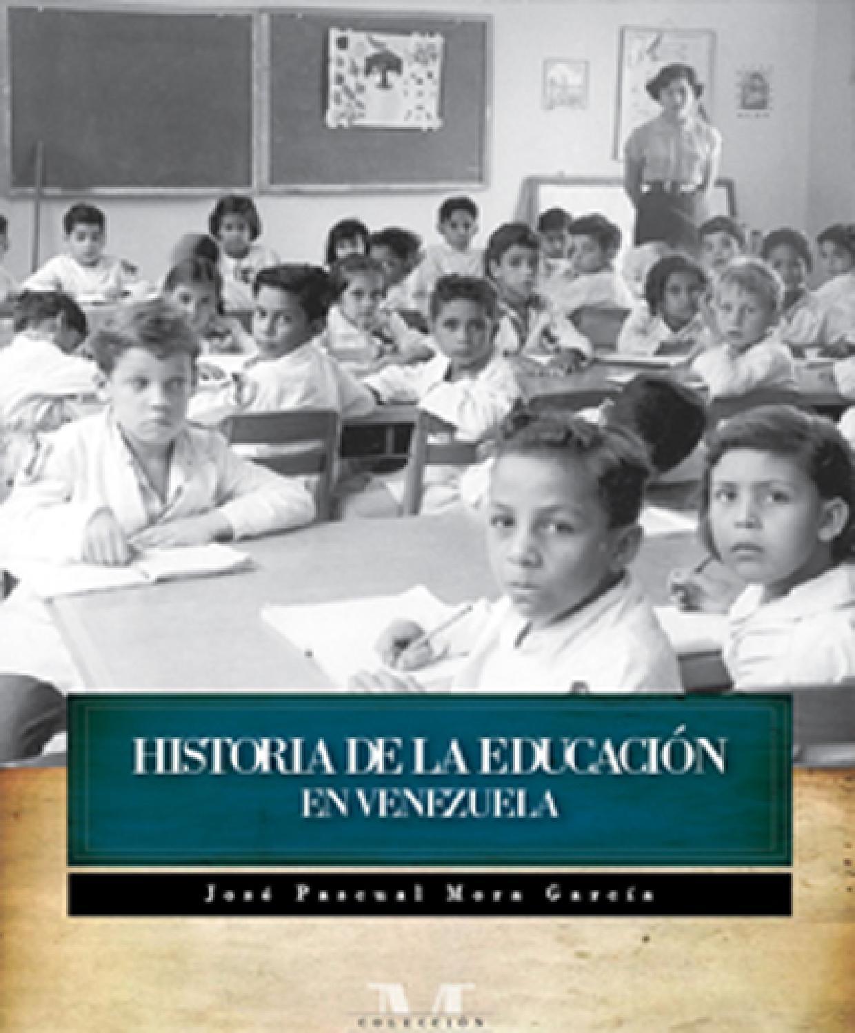 historia de la educaci n en venezuela by fundaci n centro On fundacion de venezuela