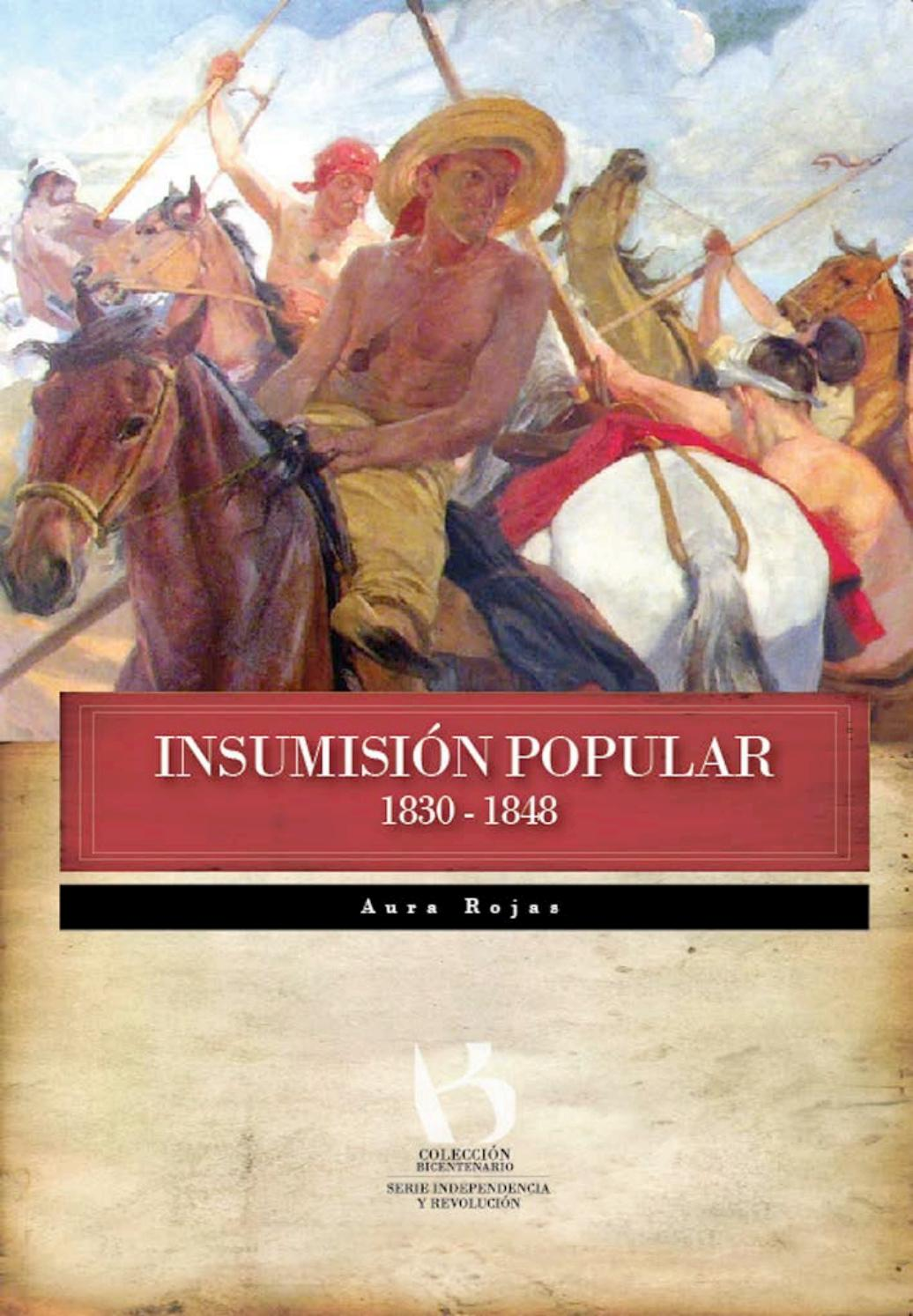 INSUMISIÓN POPULAR 1830-1848 by Fundación Centro Nacional de Historia -  issuu 7c4e9ffbe39