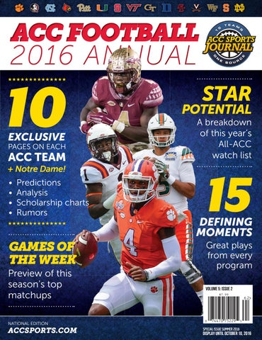 661a4717 ACC Football - 2016 Annual by Greg de Deugd - issuu