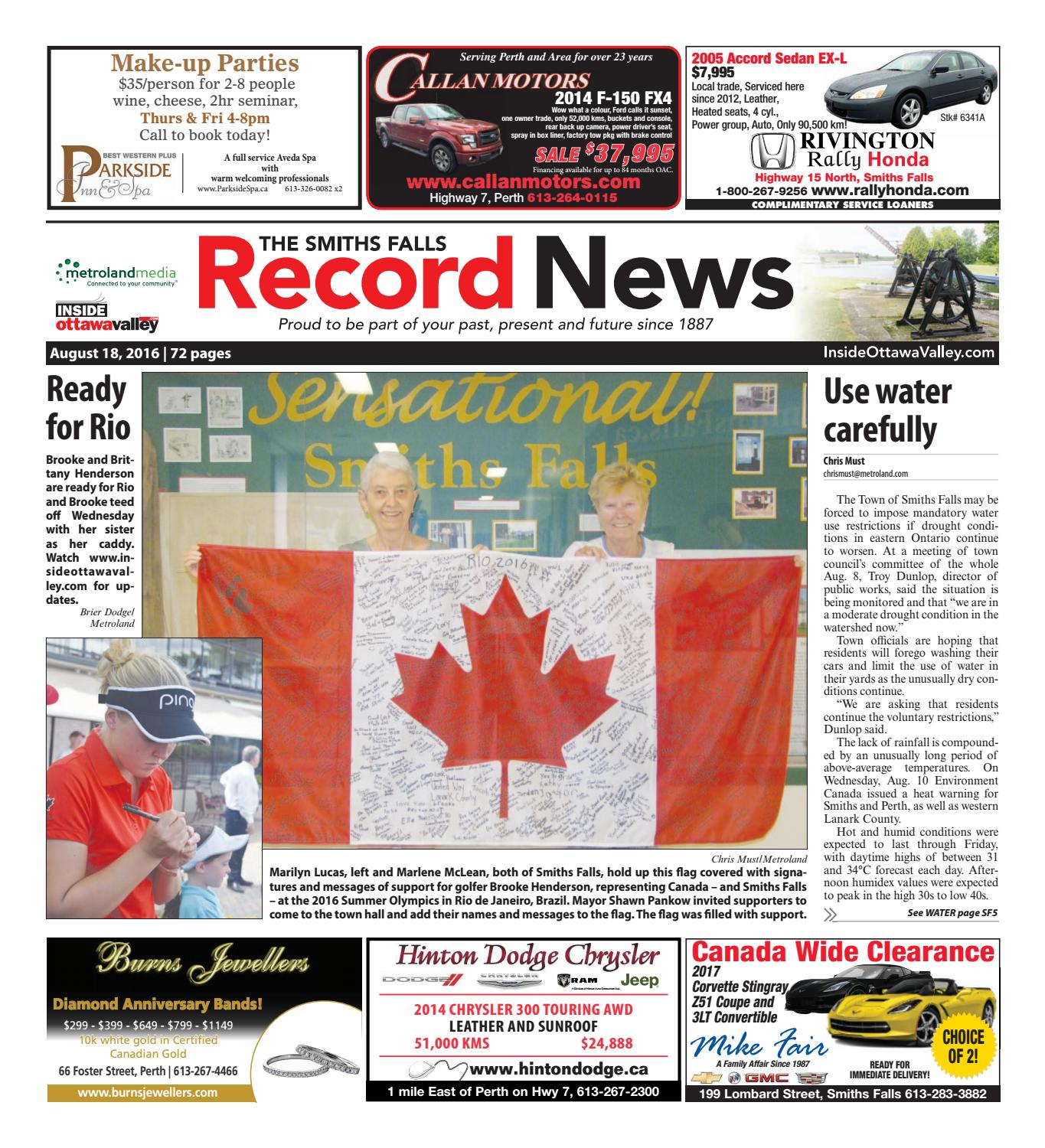 5d42bd75f27a2 Smithsfalls081816 by Metroland East - Smiths Falls Record News - issuu