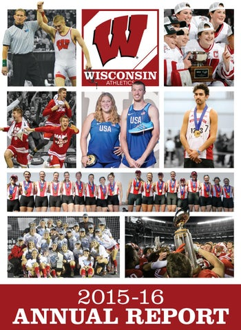 Wisconsin Athletics 2015-16 Annual Report by Wisconsin Badgers - issuu c63583a4f8b7