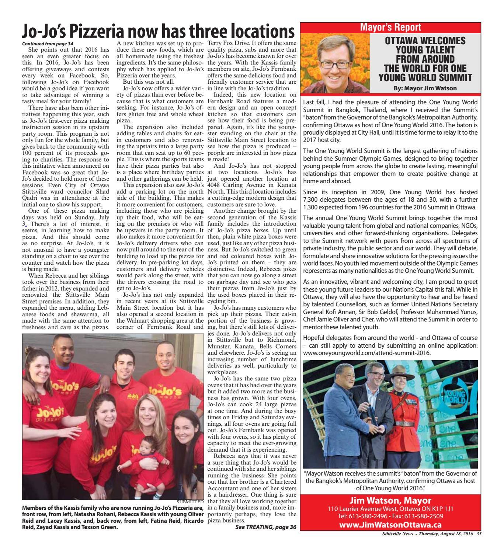 Stittsville081816 by Metroland East - Stittsville News - issuu