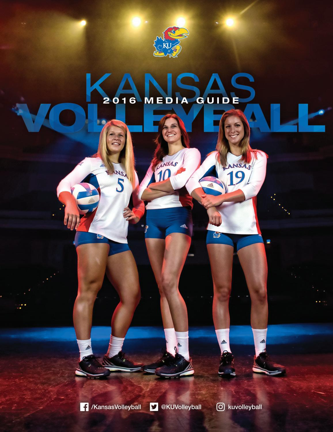3a8e18a26d38 2016 Kansas Volleyball Media Guide by Kansas Athletics - issuu